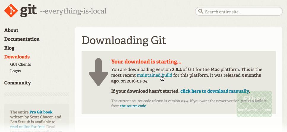 Download Git for Mac