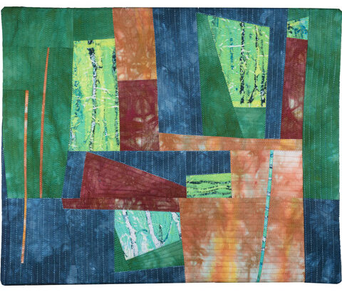 Equipoise by Floris Flam Art Quilts