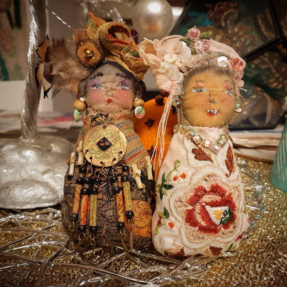 AllThingsPretty upcycled dolls