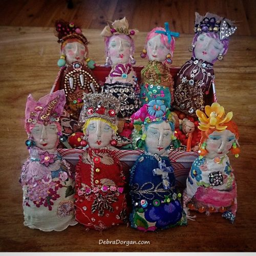 handmade cloth dolls from australia