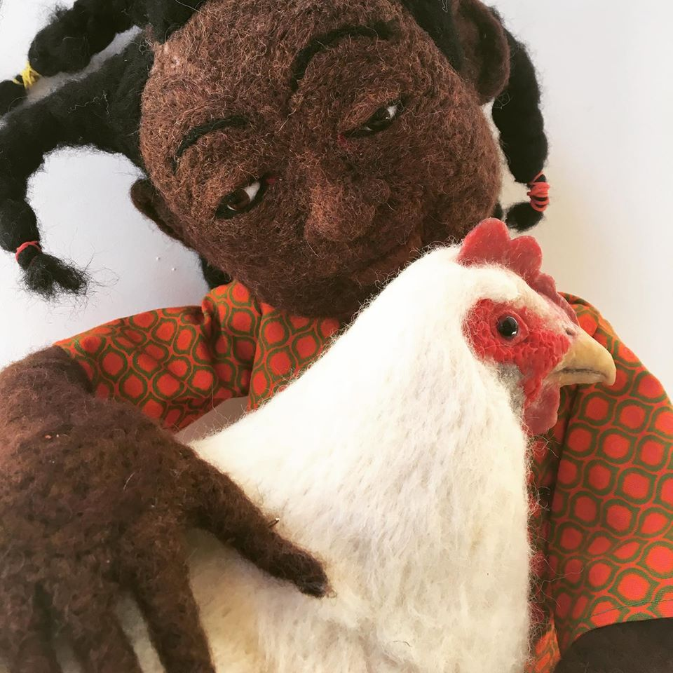 Laura Lee Burch Textile Art Refugees