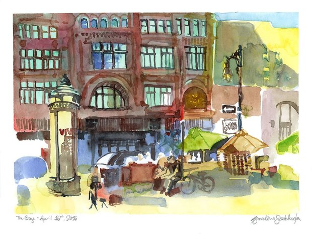 Urban Sketching Summer