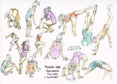 One Week 100 People Day 5: Gymnasts