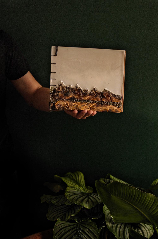 drewniany album na zdjęcia 6