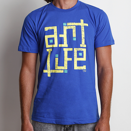 Self-Titled Tee Royal Blue