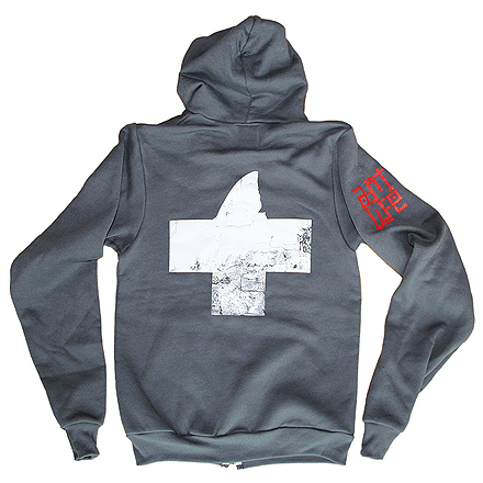 Guard Vintage Hoodie (Charcoal) - Back