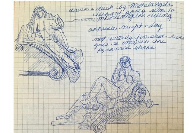 sketch books Florence Leonardo advice