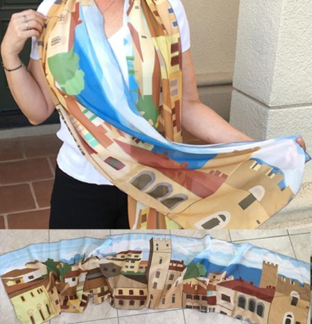 arezzo-scarf-designed-melissa-muldoon-waking-isabella-novel-italy