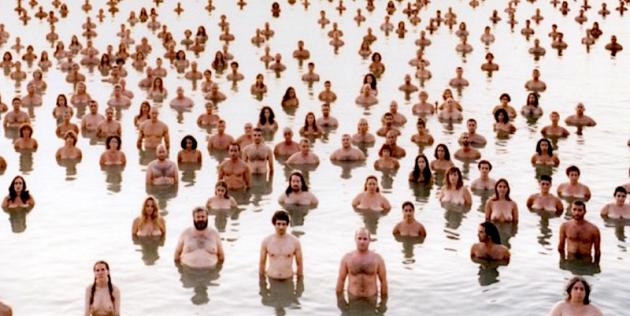 With Spencer tunick nude art that