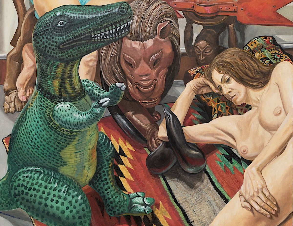 Philip Pearlstein Paintings 1990 2017 Artlyst