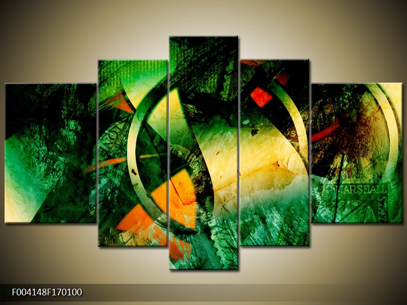 abstract canvasprint