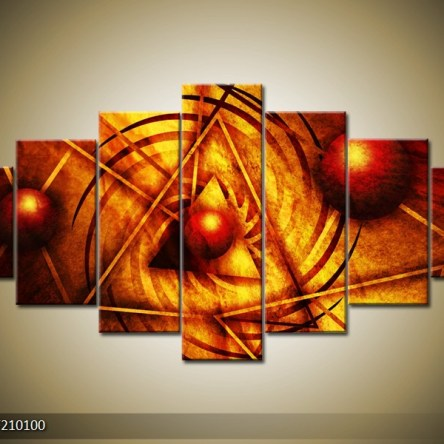 Abstract canvasschilderij 004167 – Heilige geometrie