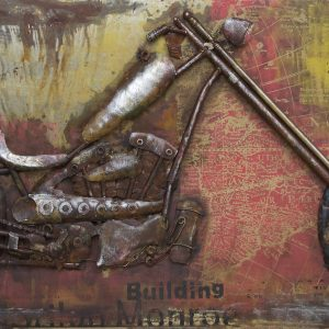 Metal art 3D – 903 – Motor route 66