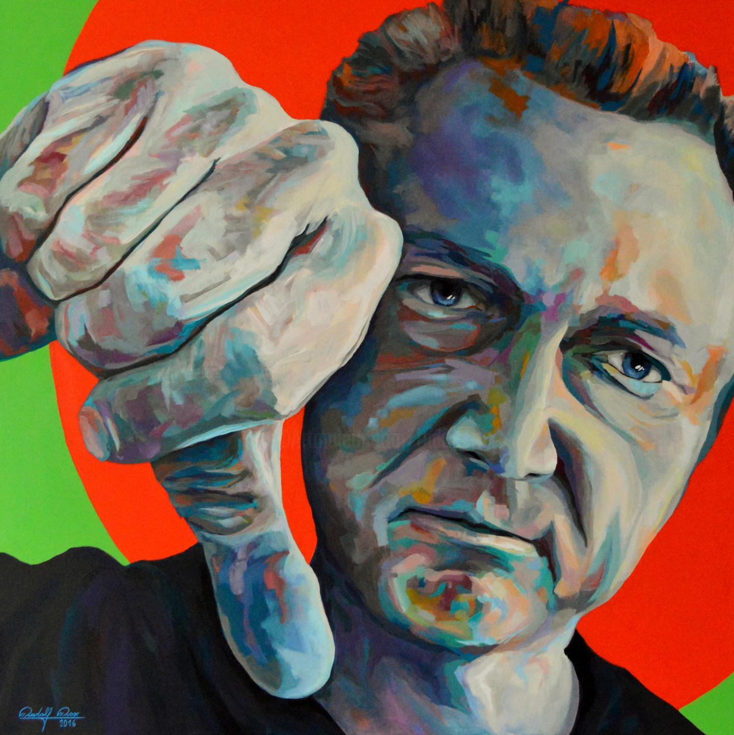 Adrian Ghenie Romanian B 1977 Self Portrait In 1945 2015