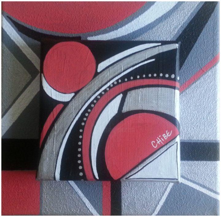 Toile Moderne Abstraite Acrylique Sur Toile Rouge Noir Gris Painting By Art Monize31 Artmajeur