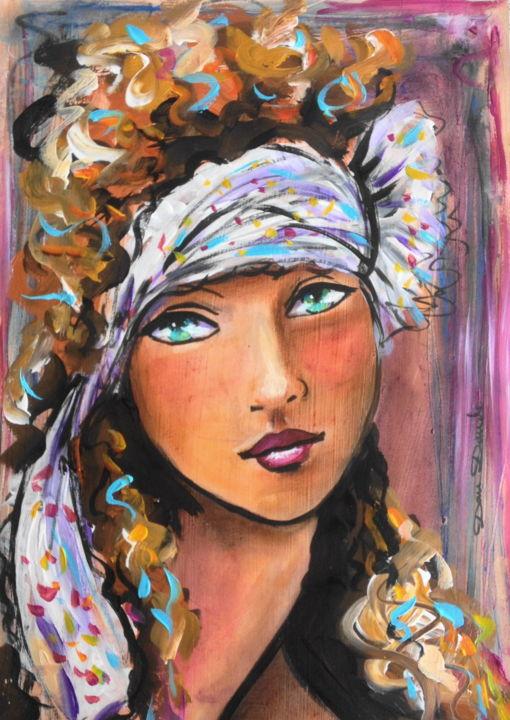 the angel peinture par dam domido