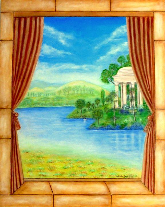 Trompe L Oeil Peinture Par Lebreton Hays Artmajeur