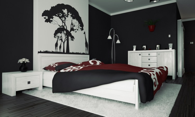 3 Black And White Bedroom Ideas Artmakehome