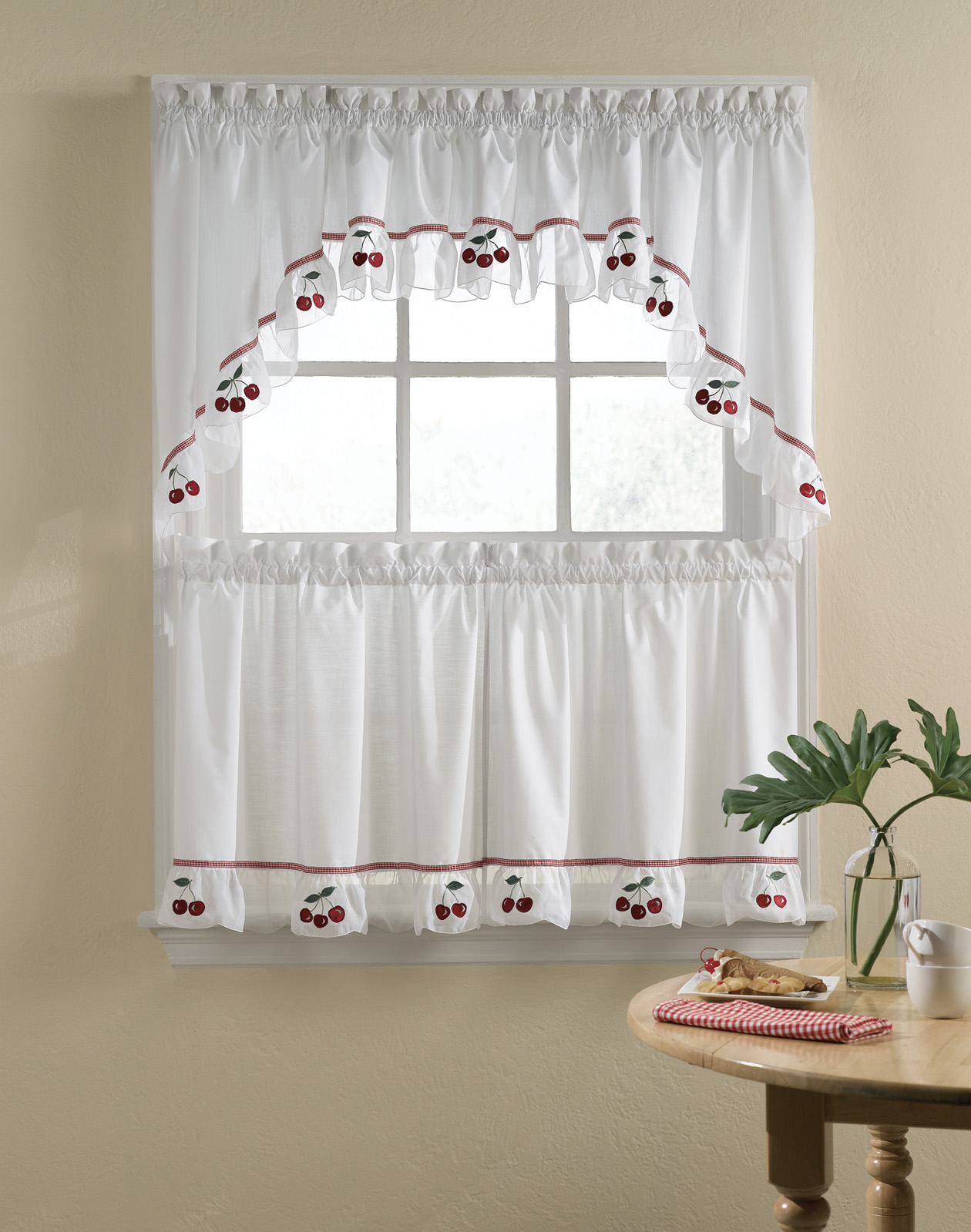 A Bunch Of Inspiring Kitchen Curtains Ideas For Getting The Fresh Yet Good Looking Kitchen Artmakehome