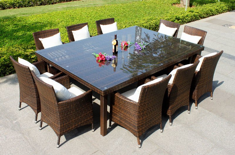 right choice 10 person dining table