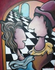 """Amoureux"" 2008. VENDU"