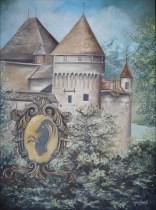 """""""Chillon"""" Huile sur toile 22 x 30. 2011"""