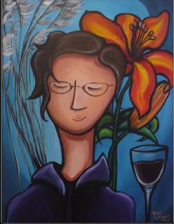 """""""Maman"""" Acrylique sur toile. 2008"""
