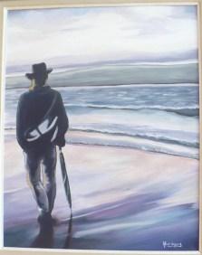 """""""Thurso"""" Acrylique et Huile sur toile 16 x 20. 2010"""