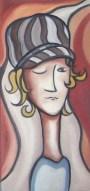"""""""Tryptique"""" Huile sur toile 2006 VENDU"""