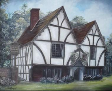 Winchester, huile sur toile 20 x 24. 2012