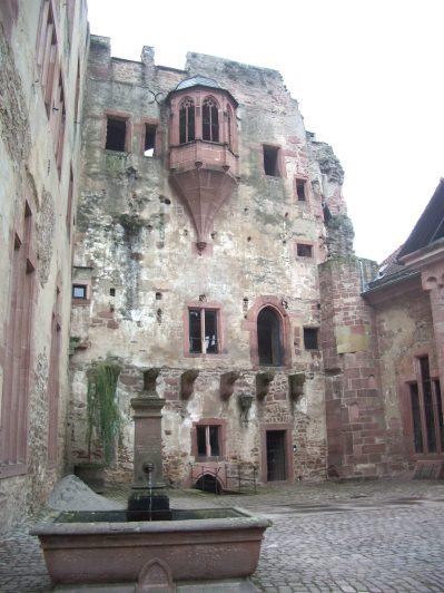 Schloss Heidelberg intérieur