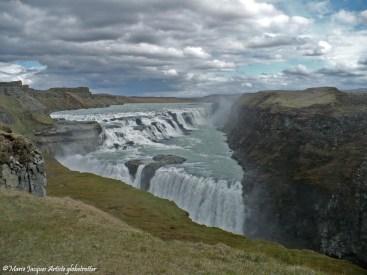 La chute de Gullfoss
