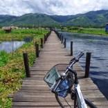 Lac Inle à vélo