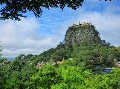 Mont Popa- Vue du village