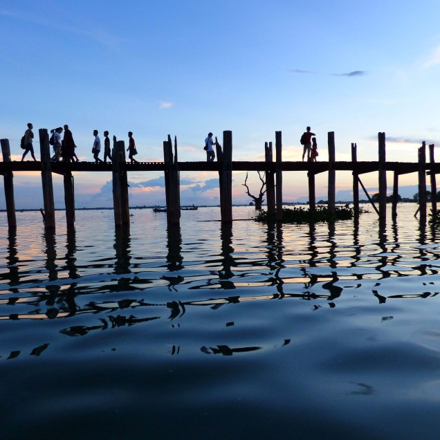 U Bein Bridge- Amarapura