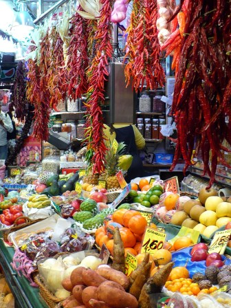 Mercat de la Boqueria à Barcelone
