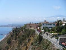 Taormina et l'Etna