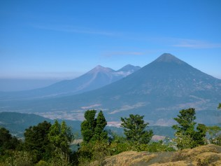 Vue du volcan Pacaya