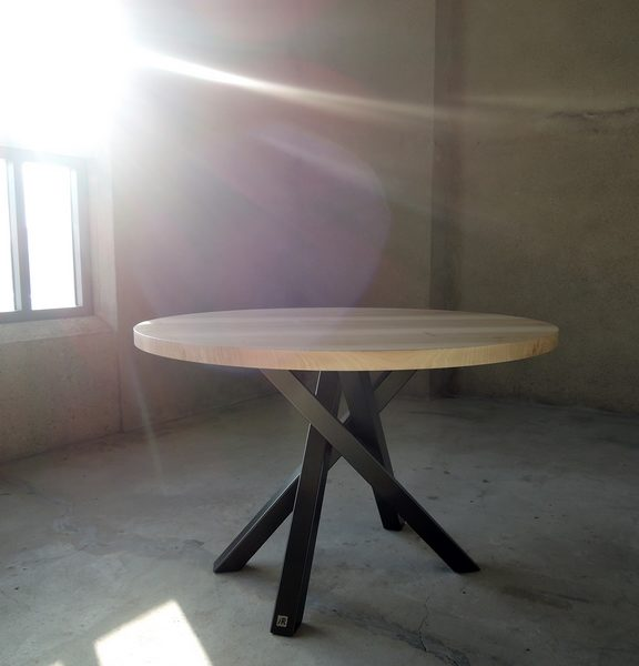 table mikado ronde