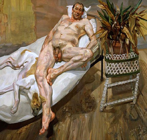 David and Eli by Lucian Freud