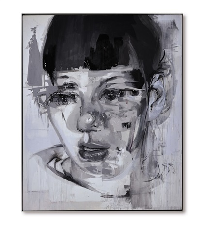 stare iii by jenny saville