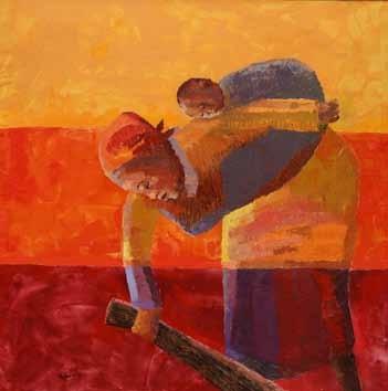 Mothers burden by Albert Ohams on artnet