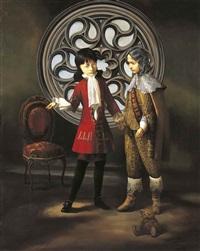 DEUX HOMMES NOBLES, 2002