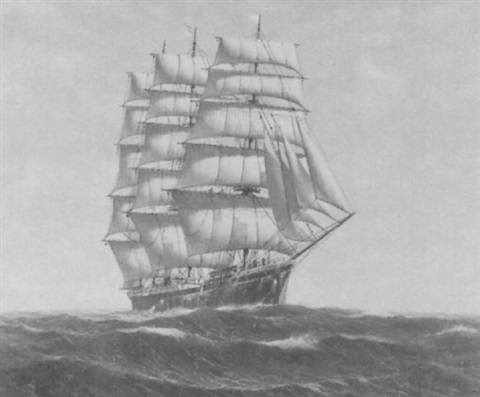 Image result for American four masted barque