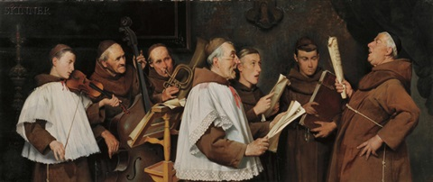 Image result for monks in choir