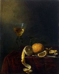 Jan van de Velde Still Life with Glass