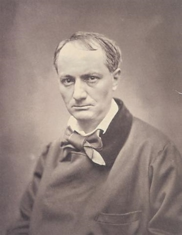 Portrait de Charles Baudelaire par Pierre Petit sur artnet