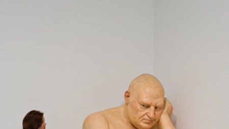 Ron Mueck's Untitled (Big Man), 2000,