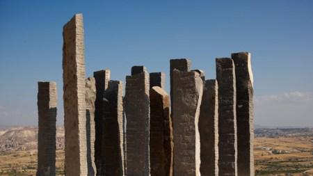 Andrew Rogers's Turkish Earthworks