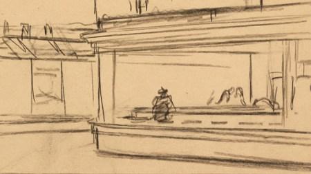 How Edward Hopper Storyboarded 'Nighthawks'